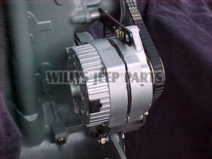 willys jeep distributor wiring 12-v alternator #2