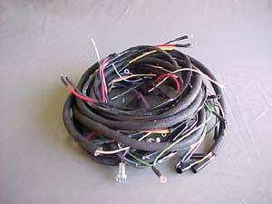 body and chassis wiring harness rh willysjeepparts com