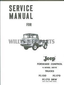 Fc Fj Service Manuals