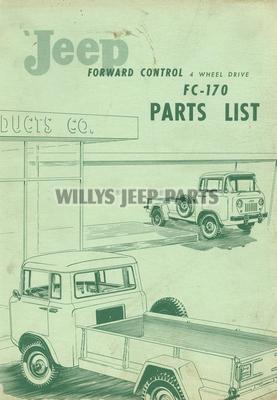 Fc Fj Parts Lists