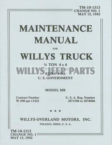willys jeep ford model gpw service manual